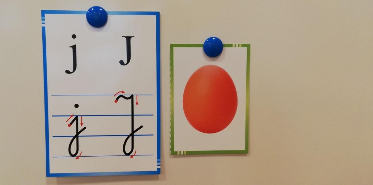 Wprowadzenie litery j, J