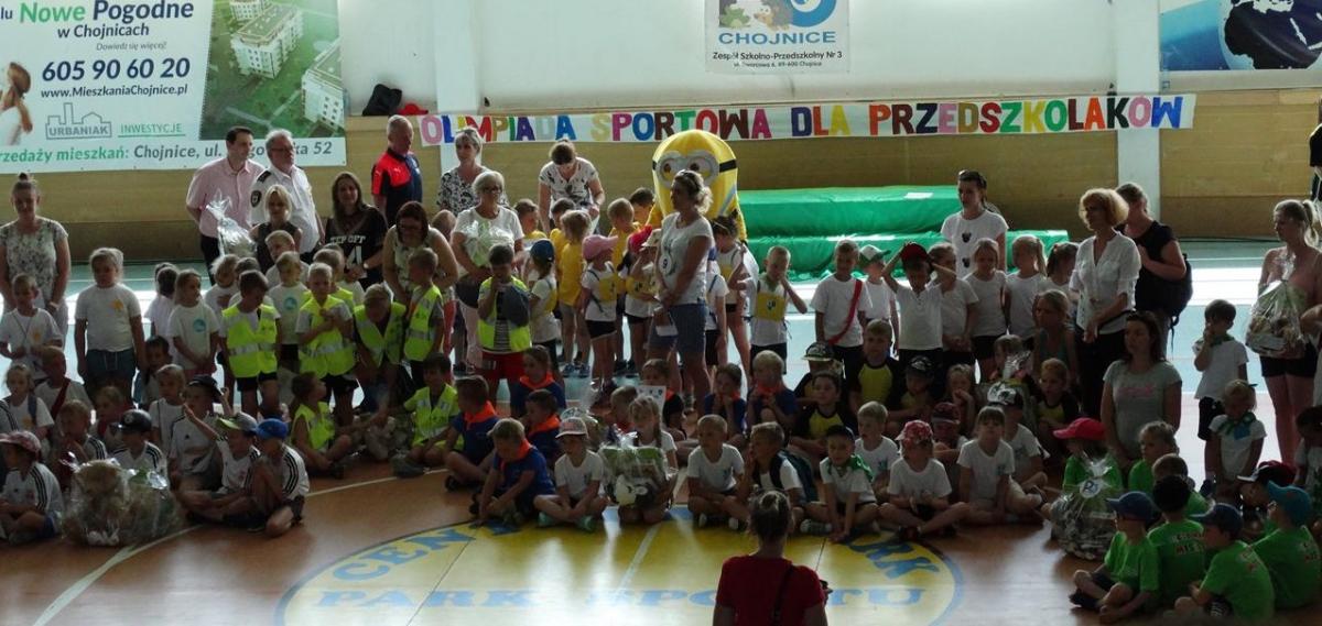 Miejsko-Gminna Olimpiada Sportowa dla Przedszkolaków