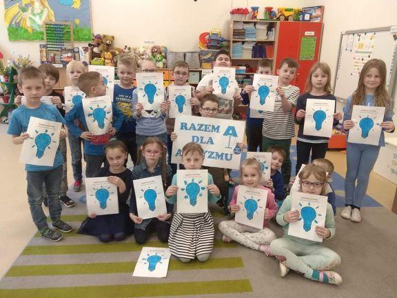 Razem na niebiesko - Światowy Dzień Autyzmu