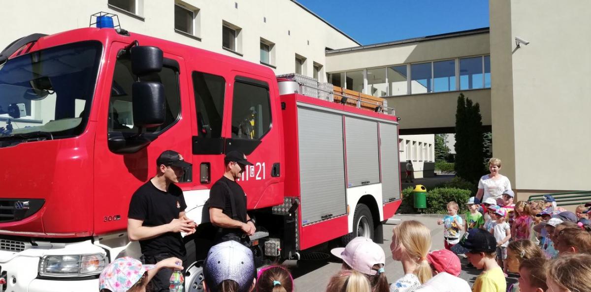 Wizyta Straży Pożarnej w przedszkolu